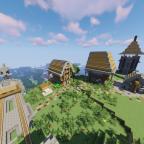 Der Beginn des Dorfes