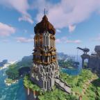 Der mächtige Turm